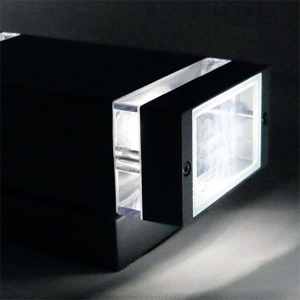 LED Außenleuchte zweiseitig vertikaler Abstrahlung