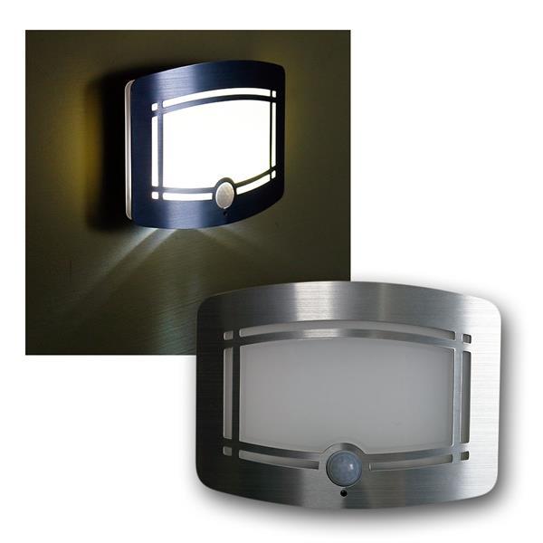 "LED Wandleuchte ""Galano"" neutralweiß mit Sensor"