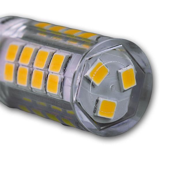 G9 LED Leuchtmittel 230V mit SMD LEDs im Kunststoffgehäuse