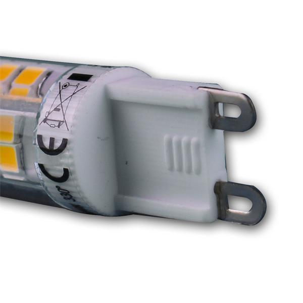 LED Energiesparlampe 230V Sockel G9 mit nur ca. 4W Verbrauch