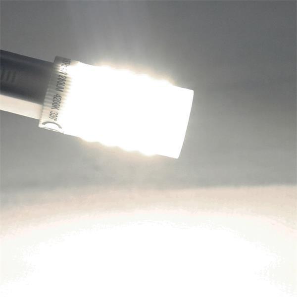 G9 LED Glühbirne mit breiten 330° Abstrahlwinkel für optimale Ausleuchtung