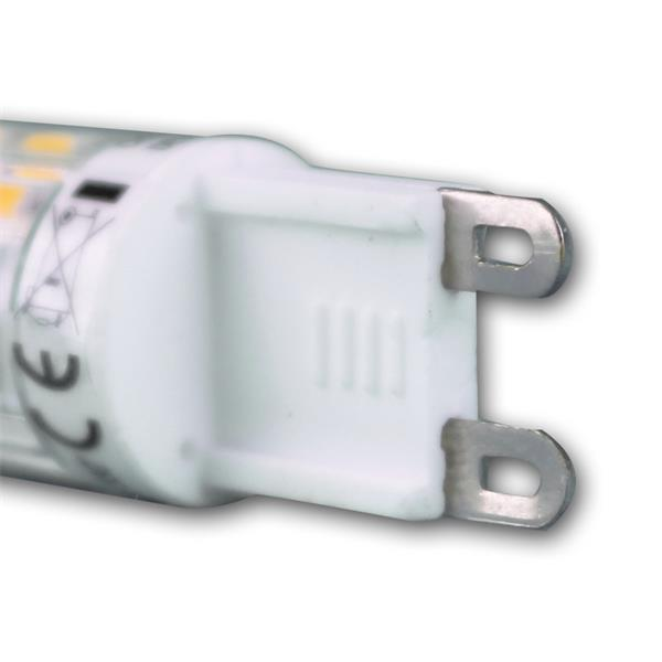 LED Energiesparleuchte 230V Sockel G9 mit nur ca. 6W Verbrauch