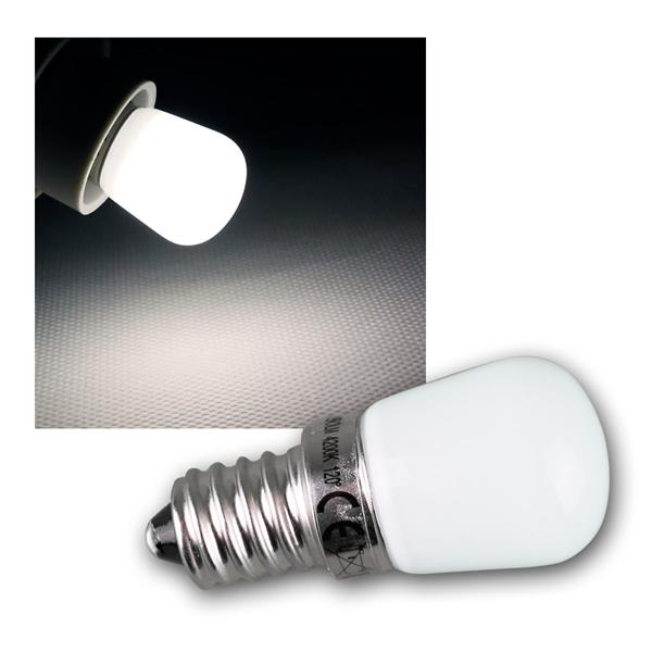 E14 LED Lampe MINI neutral weiß 150lm 230V 2W 120°