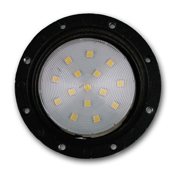 230V LED Bodeneinbaustrahler komplett mit GX-53 Spot und 240lm Lichtstrom
