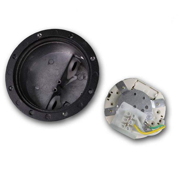 LED Uplight für 230V mit ca. 3W Verbrauch und seitlichem Kabelanschluss