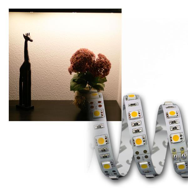 5m LED Stripe SuperBright 3600lm 12V/50W, warmweiß