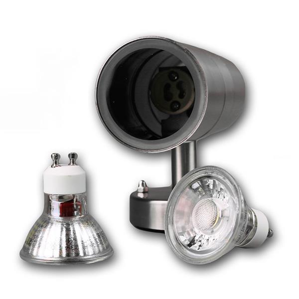 LED Wandleuchte mit einer Leuchtkraft von je 250 Lumen