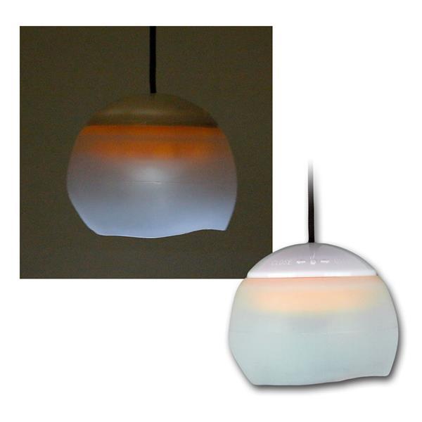 Hängeleuchte mit 4 LED, Haken, Batteriebetrieb