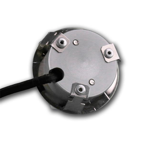 LED Strahler mit nur 1,5mm Einbau-Höhe und 3 Befestigungsfedern