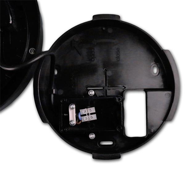 LED Wand- oder Deckenleuchte aus Kunststoff für Betriebsspannung 230V