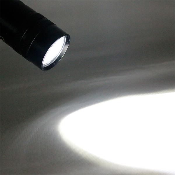 5W LED-Taschenlampe mit leuchtstarken 200lm Licht