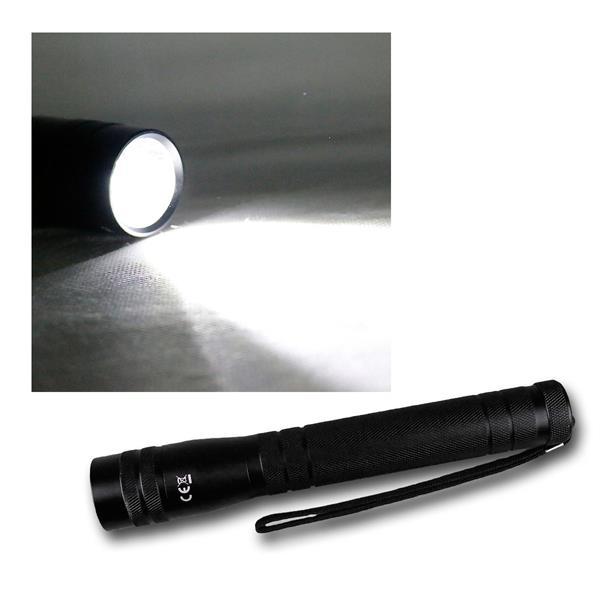 10W LED-Taschenlampe 700lm Leuchtweite bis zu 350m