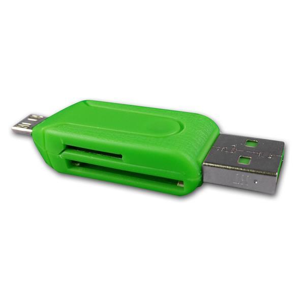 SD Kartenleser für Tablets & Smartphones micro USB
