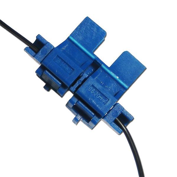 Halter mit Schneide-/Klemmtechnik für Kabel 1,5 bis 2,5mm²