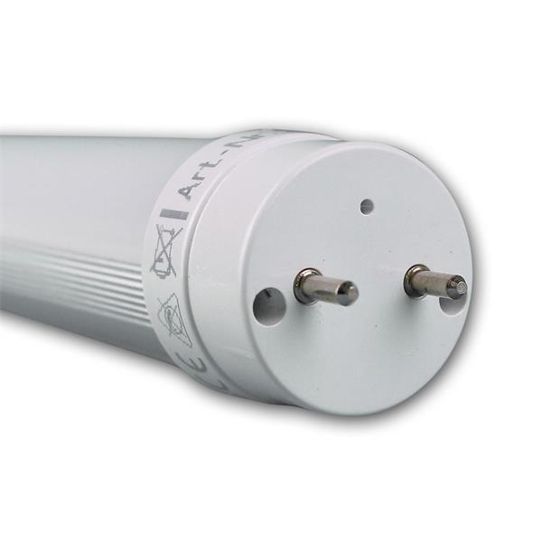 T8 LED Leuchtmittel mit matter Polycarbonatabdeckung und nicht-drehbaren Anschluss