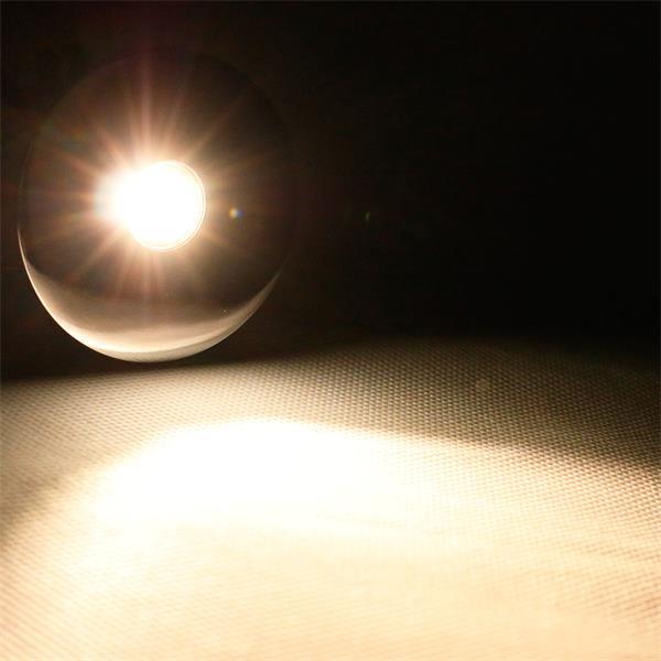 LED Einbauspot mit einer 3W Hochleistungs-LED für gezielte Lichtakzente