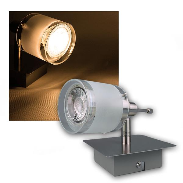 LED Wandleuchte GBA inklusive 3W LED Leuchtmittel