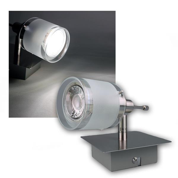 "COB LED Wandleuchter ""GBA"" 1er daylight 420lm 5W"