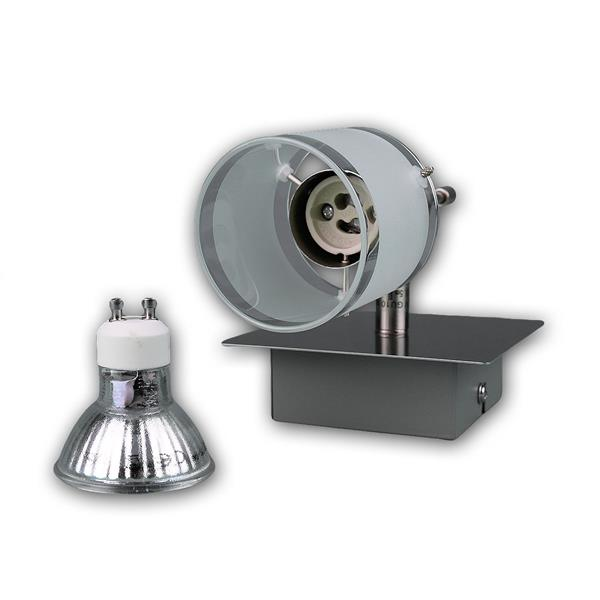LED Wandleuchte GBA mit schwenkbaren Lampenschirm