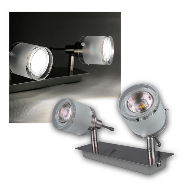 "COB LED Wandleuchte ""GBA"" 2er daylight 420lm 5W"