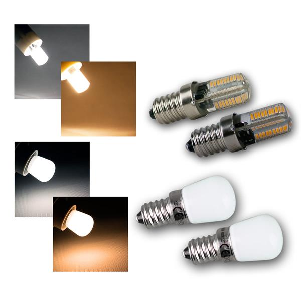 E14 Mini-Leuchtmittel Kühlschranklampen, alle Typ