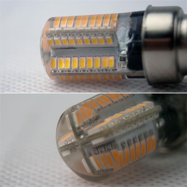 Die E14 Mini-Leuchtmittel sind in warmweiß oder daylight erhältlich