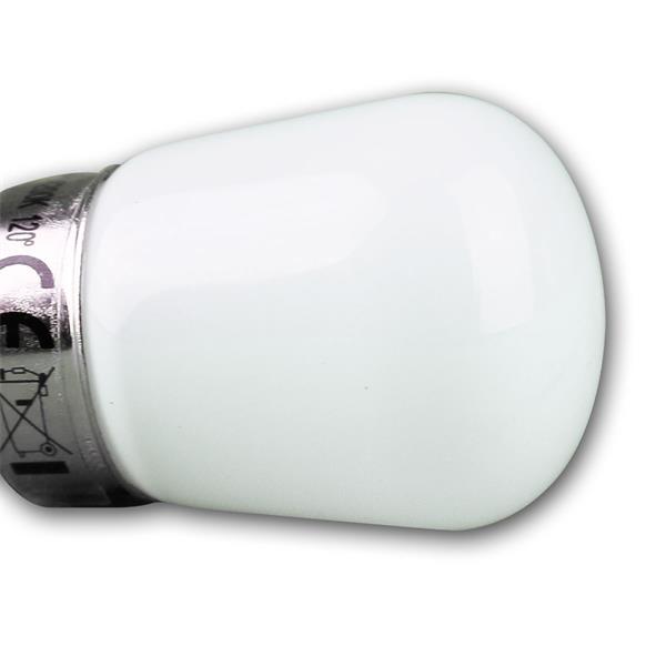 Die E14 Mini-Leuchtmittel sind mit 2 oder 3W erhältlich