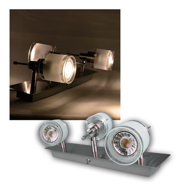 """COB LED Deckenlampe """"GBA"""" 3er warmweiß 230lm 3W"""