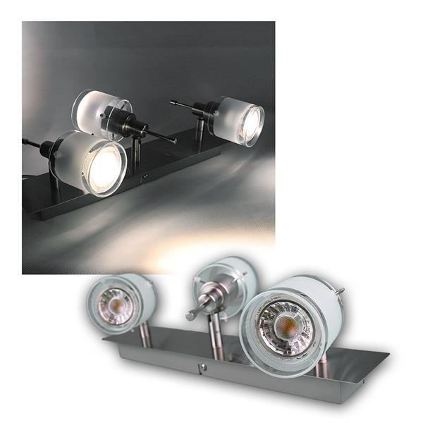 "COB LED Deckenlampe ""GBA"" 3er daylight 250lm 3W"