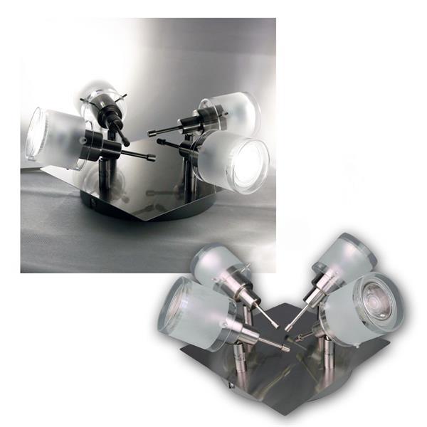 "COB LED Deckenlampe ""GBA"" 4er daylight 420lm 5W"
