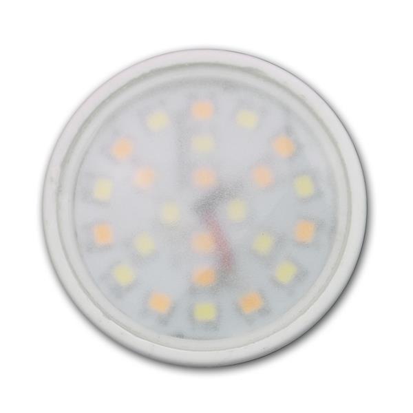 LED Strahler GU10 vereint die Vorzüge der unterschiedlichen Lichtfarben in einem Spot