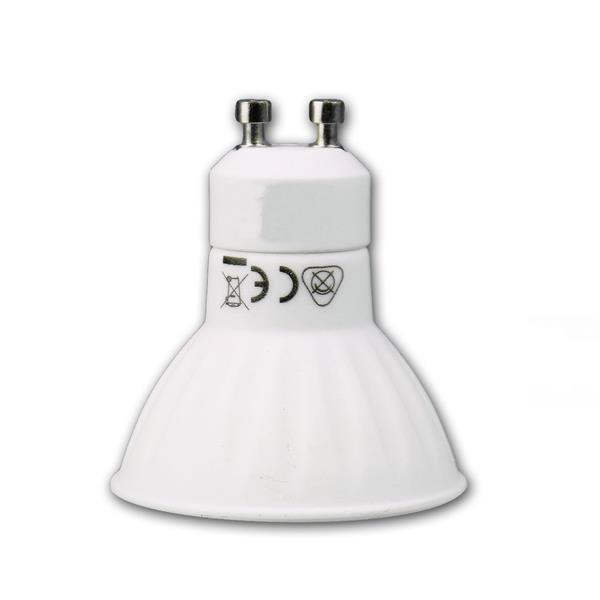 LED Energiesparlampe GU10 Tricolor für 230V Sockel GU10 und nur 5W Verbrauch