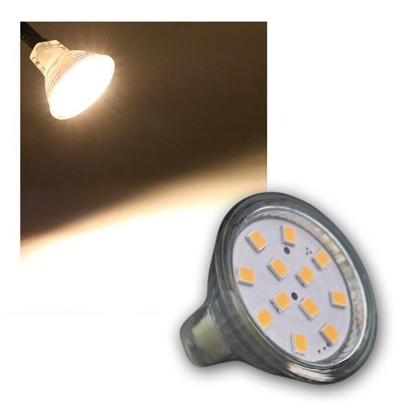 LED MR11 Leuchtmittel 12x 2835 SMD LED