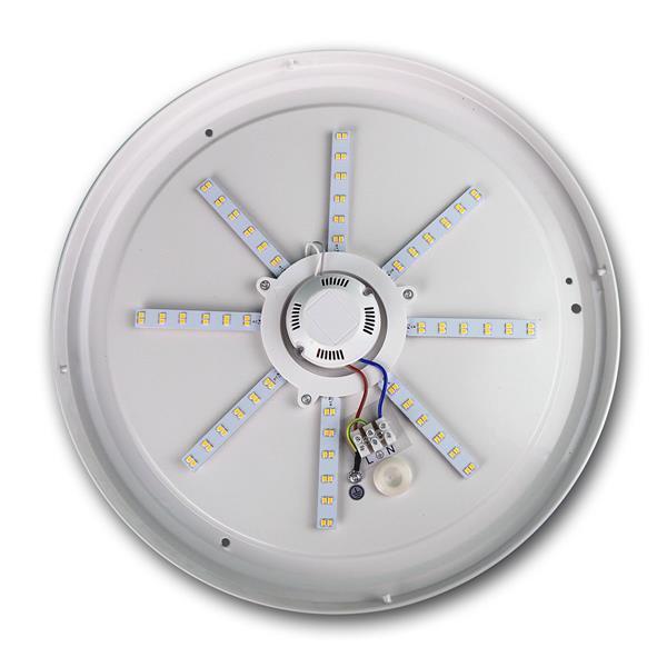 LED Feuchtraumleuchte mit lichtstarken SMD LEDs mit 1200 Lumen