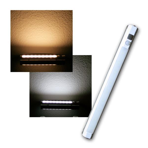 LED-Lichtleiste mit PIR Bewegungsmelder, Batteriebetrieb