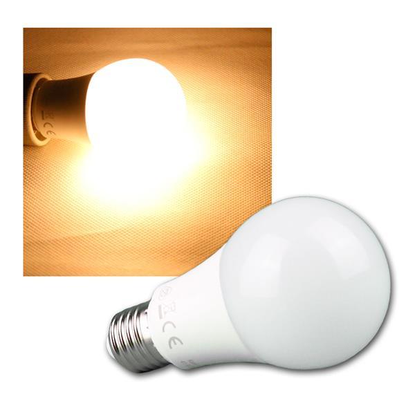 E27 LED Leuchtmittel WIDE warm weiß 800lm 10W 300°