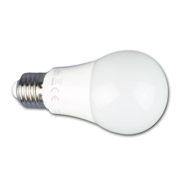 LED Energiesparlampe ist vergleichbar mit einer 60W Glühbirne und hat das Maß 60x115mm