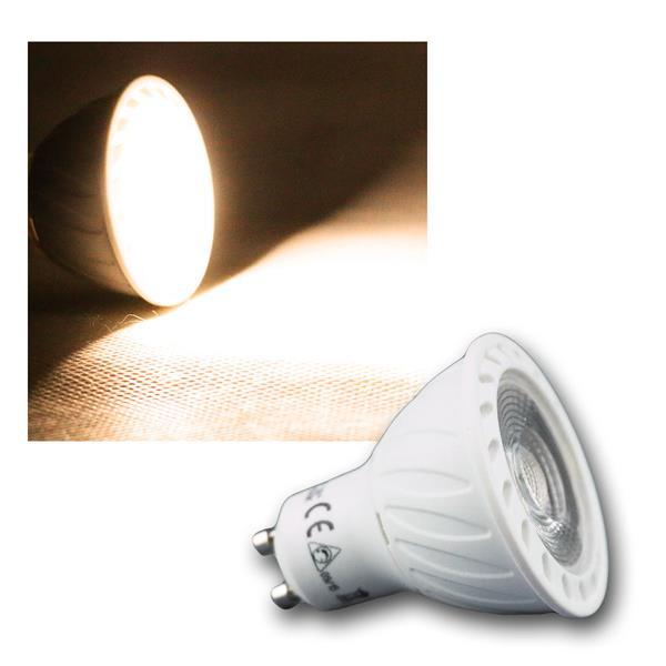 LED Strahler GU10 H60 COB Dimmbar warm weiß 540lm