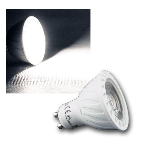 LED Strahler GU10 H60 COB Dimmbar neutral weiß 560lm