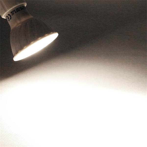 GU10 LED Spot mit unfassbaren 560lm Lichtstrom Alternative zu konventionellen 50W Strahlern