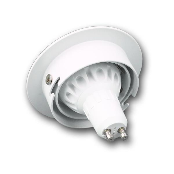 5W LED Einbaustrahler mit GU10 Leuchtmittel