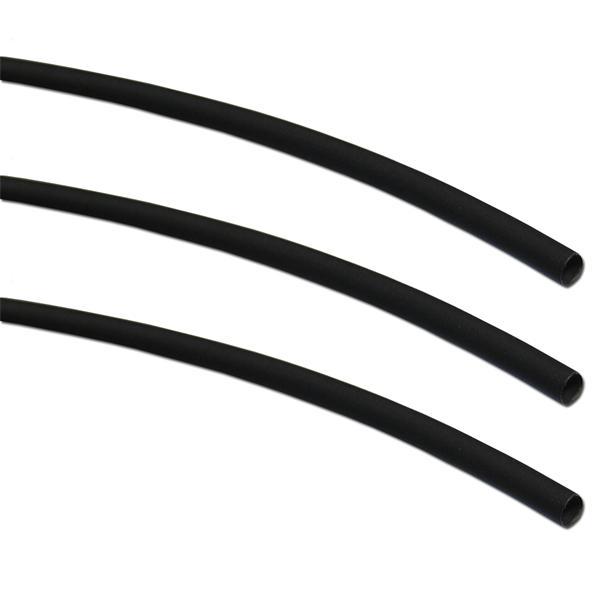 15m Schrumpfschlauch-Box, 2:1,  Ø 1,6/0,8, schwarz