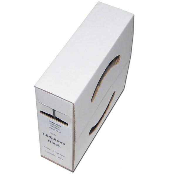 flexibler Kunststoffschlauch in einer praktischen Papp-Spenderbox