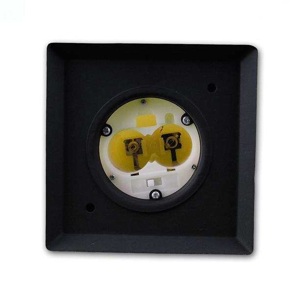 LED Dekolaterne batteriebetrieben mit 2 Babybatterie Typ R14 UM2