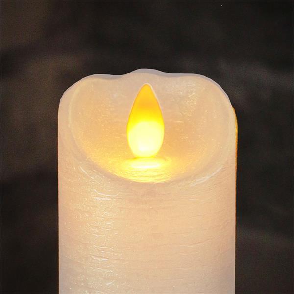 LED Wachskerze Glow Flame imitieren eine natürliche Flamme
