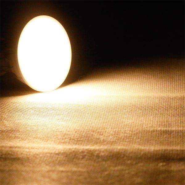 GU10 LED Strahler mit der Leuchtfarbe warm weiß