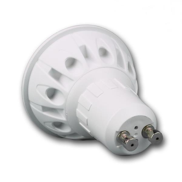 GU10 LED Energiesparlampe mit Abstrahlwinkel 120°