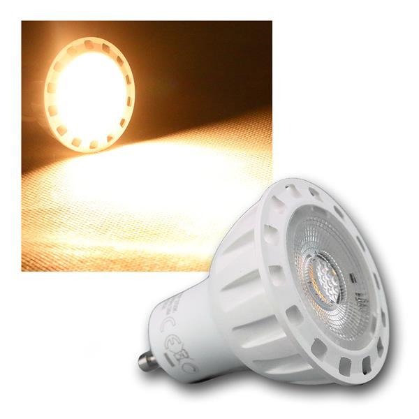 Strahler GU10 6W 345lm DIMMBAR COB LED warm weiß