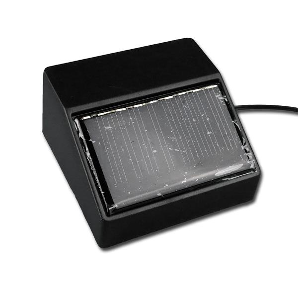 LED Lichterkette mit Solar Panel mit austauschbarem Akku