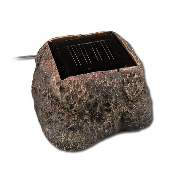 Solar LED Lichterkette mit Erdspieß für festen Halt